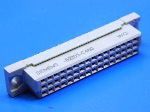 Connettore 48 poli femmina circuito stampato DIN41612