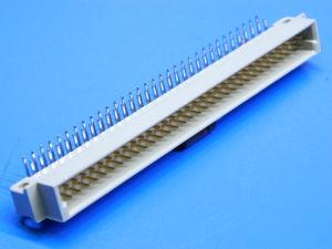 Connettore 64 poli maschio 90° circuito stampato DIN41612