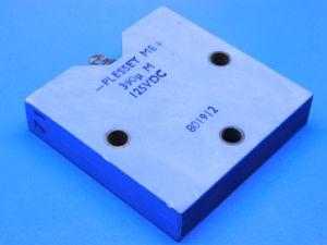 390MF 125Vcc condensatore al tantalio PLESSEY