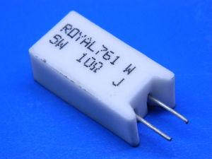 10ohm 5W resistenza filo (n.5 pezzi)
