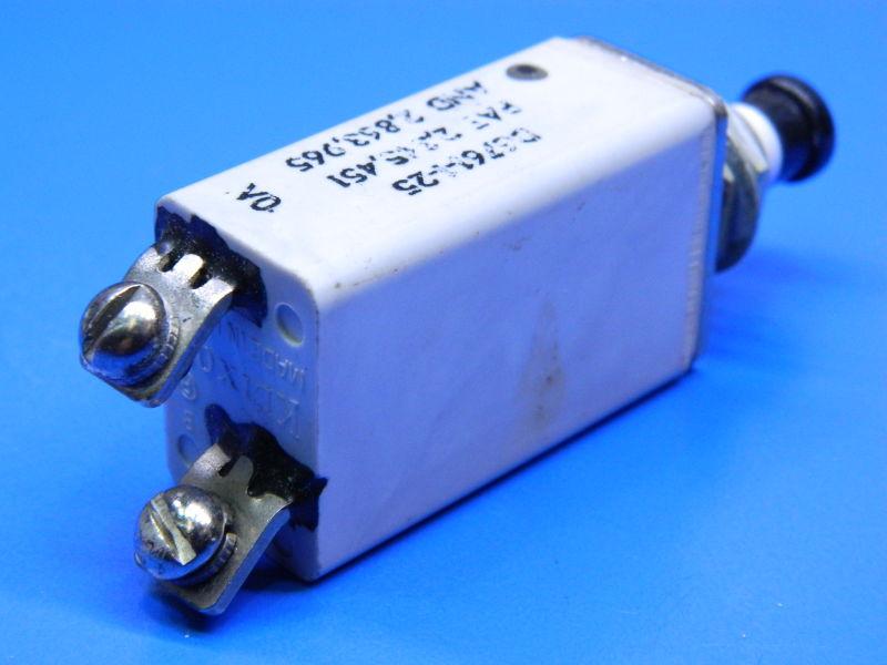 Klixon circuit breaker 180 grit sanding discs