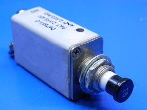 KLIXON D6761-1-15 circuit breaker aircraft  15Adc, interruttore termico ripristinabile