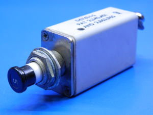 KLIXON D6761-1-5 thermal switch aircraft 5Acc, interruttore termico ripristinabile