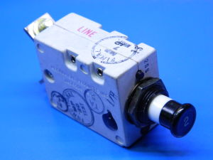 Mechanical Products LS7501-2  circuit breaker aicraft 2Adc, interruttore termico ripristinabile