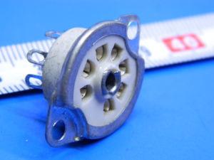 Ceramic tube socket 7 pin