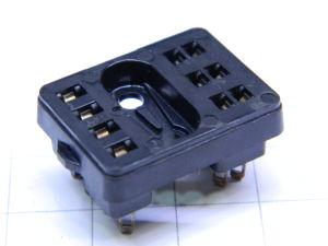Zoccolo 10 pin per relè Siemens 2 scambi , terminali a saldare
