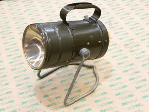 German Army light with LED bulb