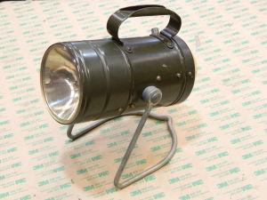 German Army light with LED bulb