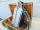 Cassa stagna con n.2 bombole aria AUER DRAGER, zaino, rubinetteria, sdoppiatore e tubo DIN