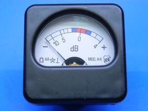 Amperometro 200uA fondo scala ICE 42x42