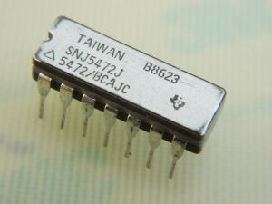 SNJ5472J integrated circuit IC