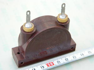4000pF 4KV Mica capacitor