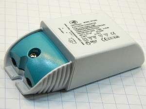 Electronic converter 35-105W for LV-alogen lamp