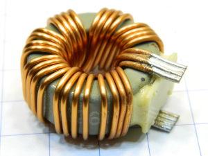 Toroidal coil 9uH 30x15
