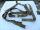 Cinta sgancio rapido INOX + 2 spallacci anelli e ganci ottone