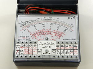 Tester analogico professionale tascabile ICE 680G IV serie originale