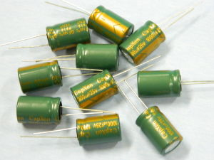 1000MF 25V capacitor CAPXON ( 10pcs.)