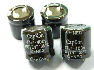 47MF 400V capacitor CAPXON HS Vent 105° ( 4pcs.)