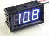 Digital voltmeter 4-32Vdc blu digit