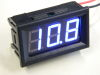 Digital voltmeter 4-32Vdc blu digit