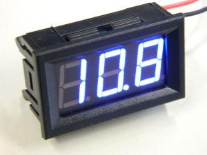 Voltmetro digitale da pannello 4-32V luce blu