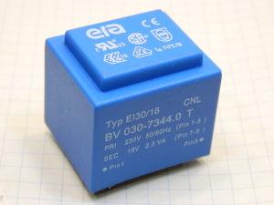 Trasformatore resinato 230/18V 2,3VA