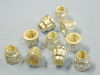 """5/16""""- 24 UNF   self locking nut 12 point silver plated (10pcs.)"""