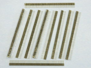 Strip line striscia 45pin  mm. 113x12  90° (n.10 pezzi)