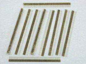 Striscia Pin 45 posti mm. 113x12 (n.10 pezzi)