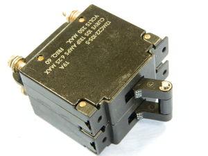 Circuit breaker KLIXON 12MC22-105-5  6,25A 220Vac 50/60Hz 2 poles