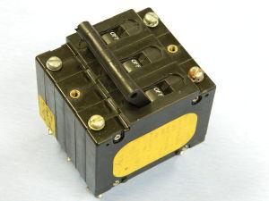 Interruttore automatico AIRPAX UPL111-IREC2-20375-1 8,75A 250Vac 50/60Hz 3 poli