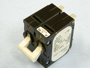 Interruttore automatico AIRPAX UPGH11-24327-1 15A 250Vac 50/60Hz 2 poli