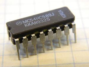 MC54HC589J integrated circuit