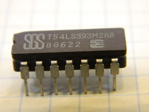 T54LS393M2RB integrated circuit