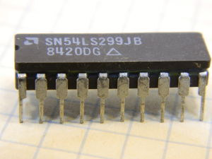 SN54LS299JB integrated circuit