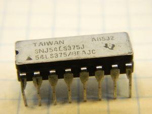 SNJ54LS375J integrated circuit