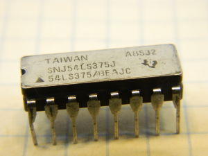 SNJ54LS375J integrated circuit