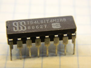 T54LS174M2RB integrated circuit