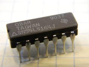 SN54LS164J integrated circuit