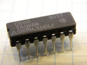 SN54LS164J integrated circuit