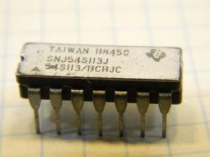 SNJ54LS113J integrated circuit