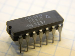 54LS93 integrated circuit