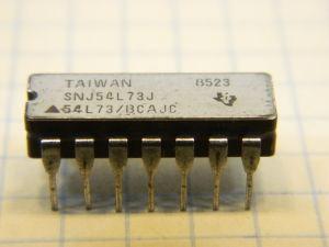 SNJ54L73J integrated circuit
