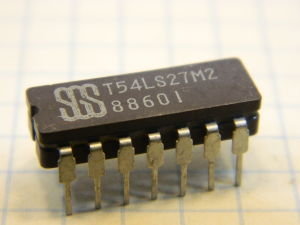 T54LS27M2 integrated circuit
