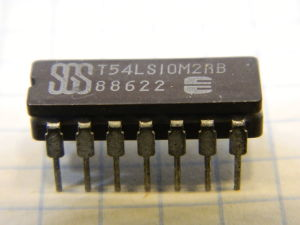 T54LS10M2 integrated circuit