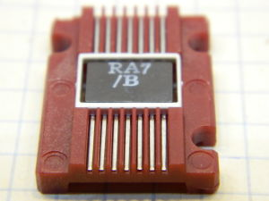 DM54LS08W integrated circuit