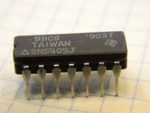 SN5405J integrated circuit