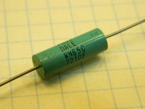 220ohm 0,1% resistor DALE