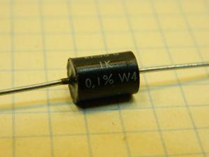 1Kohm 0,1% resistenza precisione