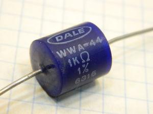 1Kohm 1% resistor DALE